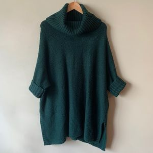 Lou & Grey | Dark Hunter Green Oversized Sweater